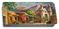 Old Tucson Portable Battery Charger by Marilyn Smith