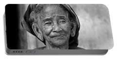 Old Vietnamese Woman Portable Battery Charger