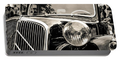 Citroen Traction Avant Portable Battery Charger by Andrea Mazzocchetti