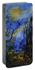 Portable Battery Charger featuring the painting Old Ways by Christophe Ennis