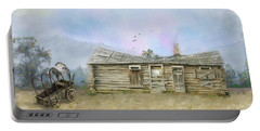 Portable Battery Charger featuring the photograph Old West by Mary Timman