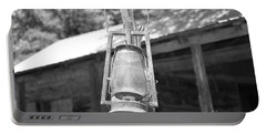 Old Western Lantern Portable Battery Charger
