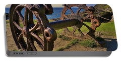 Old Winch Tintagel Portable Battery Charger by Richard Brookes