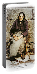 Old Woman Of Spain Portable Battery Charger