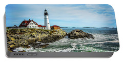 Oldest Lighthouse In Maine Portable Battery Charger