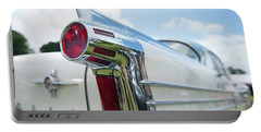 Oldsmobile Tail Portable Battery Charger by Helen Northcott