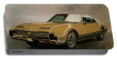 Oldsmobile Toronado 1965 Painting Portable Battery Charger