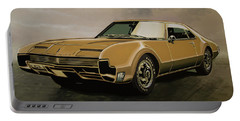 Oldsmobile Toronado 1965 Painting Portable Battery Charger
