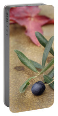 Portable Battery Charger featuring the photograph Olive by Cindy Garber Iverson