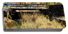 Oliver Mill Park Portable Battery Charger by Catherine Gagne
