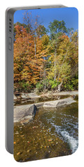 Portable Battery Charger featuring the photograph Olmsted Falls Autumn Spendor by Lon Dittrick