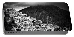 Olympos. Karpathos Island Greece Portable Battery Charger