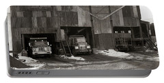 Olyphant Pa Coal Breaker Loading Trucks And Gondola Car Winter 1971 Portable Battery Charger