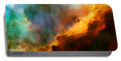 Omega Swan Nebula 3 Portable Battery Charger by Jennifer Rondinelli Reilly - Fine Art Photography