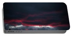 Ominous Autumn Sky Portable Battery Charger