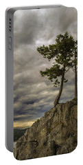 Ominous Weather Portable Battery Charger by Ed Clark