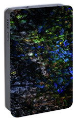 Portable Battery Charger featuring the digital art On A Cold Winter Night by Mimulux patricia no No