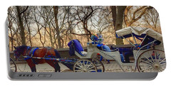 On My Bucket List Central Park Carriage Ride Portable Battery Charger