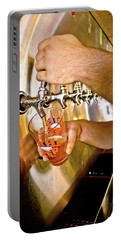 Portable Battery Charger featuring the photograph On Tap by Linda Unger