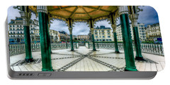 Portable Battery Charger featuring the photograph On The Bandstand by Chris Lord