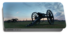 Portable Battery Charger featuring the photograph On The Battlefield by Liza Eckardt