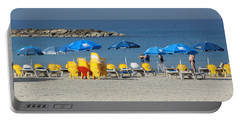 On The Beach-tel Aviv Portable Battery Charger
