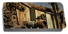 Portable Battery Charger featuring the photograph On The Farm 2.0 by Michelle Calkins