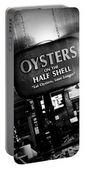 On The Half Shell - Bw Portable Battery Charger