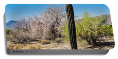 On The Ironwood Trail Portable Battery Charger