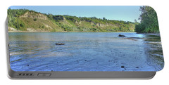 On The North Saskatchewan River Portable Battery Charger
