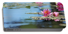 Portable Battery Charger featuring the photograph On The Pond by Amee Cave