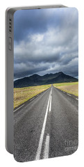 On The Road In Iceland Portable Battery Charger