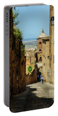 On The Streets Of Caceres Portable Battery Charger