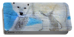 On Thin Ice Portable Battery Charger by Ann Michelle Swadener