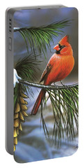 On Watch - Cardinal Portable Battery Charger