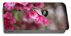 On Wine And Roses Weigela - 2 Portable Battery Charger