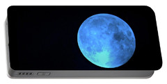 Once In A Blue Moon Portable Battery Charger