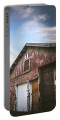 Portable Battery Charger featuring the photograph Once Industrial - Series 1 by Trish Mistric
