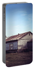 Portable Battery Charger featuring the photograph Once Industrial - Series 2 by Trish Mistric