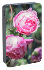 Portable Battery Charger featuring the photograph One Bold, One Bashful by Linda Lees