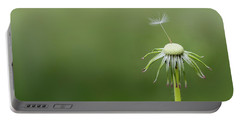Portable Battery Charger featuring the photograph One Dandy by Bess Hamiti