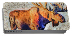 One Handsome Moose Portable Battery Charger