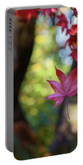 One Leaf Falls Portable Battery Charger