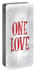 One Love Portable Battery Charger