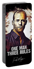 One Man Three Rules - Transporter Portable Battery Charger