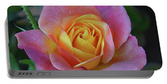One Of Several Roses Portable Battery Charger by Debby Pueschel