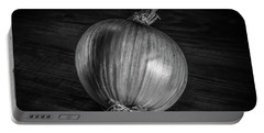 Portable Battery Charger featuring the photograph Onion by Ray Congrove