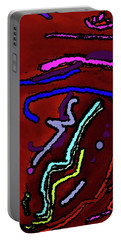 Only A Ripple Portable Battery Charger by Yshua The Painter