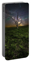 Portable Battery Charger featuring the photograph Only by Aaron J Groen