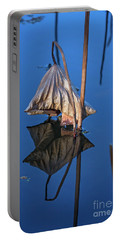 Portable Battery Charger featuring the photograph Only In Still Water by Linda Lees